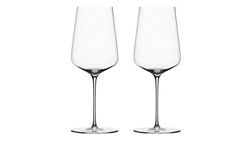 Vorteilssets von EKM Living: Zalto 2er Set Universalglas, Weinglas mundgeblasen, 11302, Glasmanufaktur Denk´Art + Gratis 4er Set EKM Living Edelstahl Trinkhalme