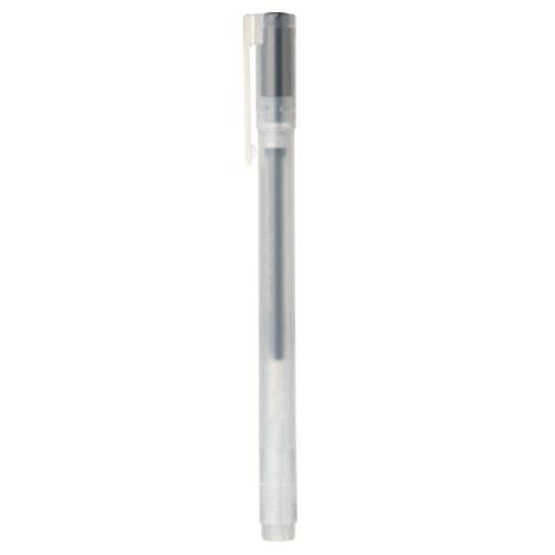 Muji Gel-Tinten-Kugelschreiber, 0,38 mm, Schwarz, 5 Stück 2019 New ver.