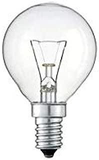 660 Lumenes. Blister de 2 bombillas esferica clara 230V 60W E14 OSRAM CLASSIC P CLAS P CL 60