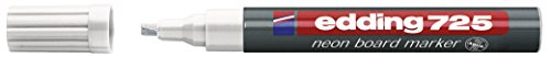 Edding 4-725-5 Neon Board Marker 725 nachfüllbar, 2 - 5 mm