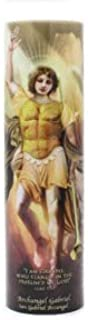 The Saints Collection Archangel Gabriel, LED Flameless Devotion Prayer Candle 6 Hour Timer, Religious Gift
