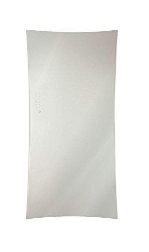 Lohema Design glazen radiator elektrische vlag 1500 W wit 1600 x 670 mm