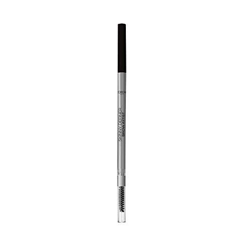 L'Oréal Paris Make Up Matita Automatica Sopracciglia Brow Artist le Skinny, Punta Sottile da 1.5 Mm, Tratto Preciso, 109 Ebony, Confezione da 1