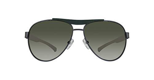 Calvin Klein 205W39nyc CKJ491S 314 58 Gafas de sol, Industrial Green, Hombre