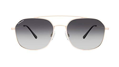 Polar OID Gafas de sol polarizadas para hombre y mujer, vintage, unisex, estilo retro, billy, color 02/f