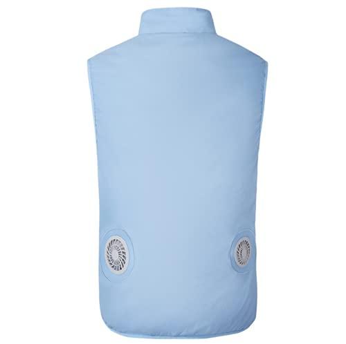 bilanciere 93 kg Yajun Ventola di Raffreddamento Gilet Estivo USB Aria Condizionata Giacca 3 Gear Top Regolabile Cooling Vest per Il Campeggio Pesca in Bicicletta
