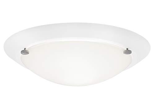 Briloner Leuchten Badlampe, Badleuchte, Deckenleuchte 1 x E27 max. 60 Watt, IP 23, weiß