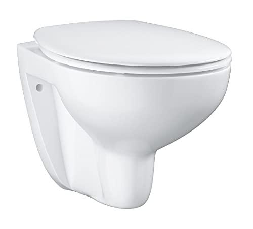 GROHE Bau Keramik   Wand-Tiefspül-WC Set, inkl. WC Sitz   alpinweiß   39351000