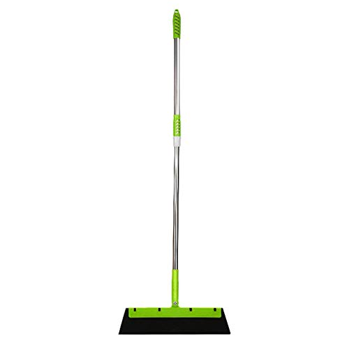 meetgre Floor Squeegee Wiper Tools Floor Squeegee Mop Wet Room Water Squeegee Long Handle with Adjustable Handles for Window Car Cleaning