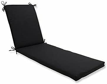 YJYDD Chaise Lounge Fees free Cushion Outdoor Indoor Fresco Fort Worth Mall Black 80x23x3