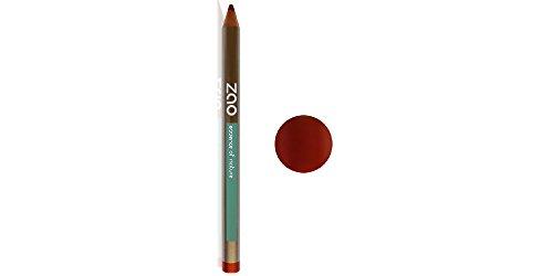 ZAO Holzstift 610 kupferrot mit Schimmer Lipliner Lippenkonturenstift (bio, Ecocert, Cosmebio, Naturkosmetik)