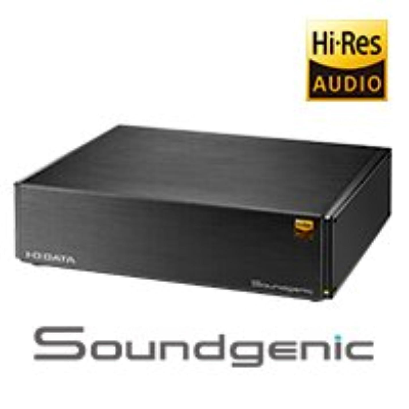 ピアノを弾くギャラリーいたずらなIO DATA ネットワークオーディオサーバー Soundgenic RAHF-S1 (1.0TB SSD)