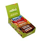 Nakd Bars, Celebration Variety Pack Raw Fruit and Nuts, Gluten Free, 18 Count
