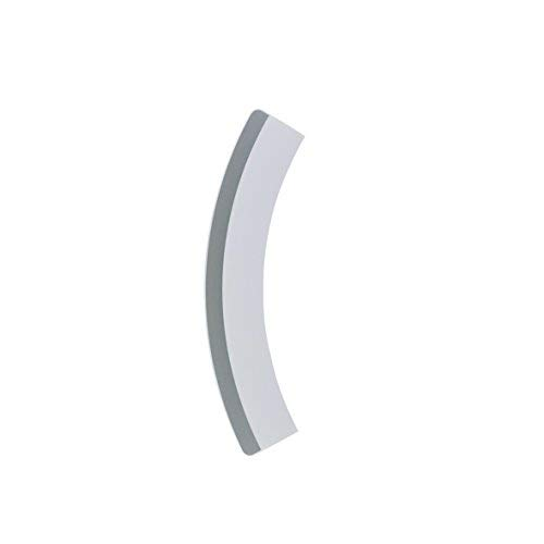 Türgriff weiß silber SPL27343 Trockner ORIGINAL Bosch Siemens Balay 00644382