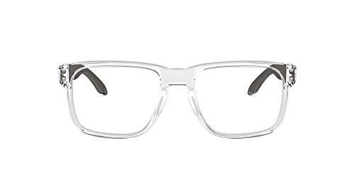 Oakley 0OX8156 Monturas de gafas, Polished Clear, 56 para Hombre