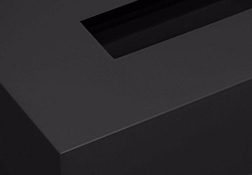 『橋本達之助工芸 TATSU-CRAFT(タツクラフト) ティッシュBOXカラー ブラック』のトップ画像
