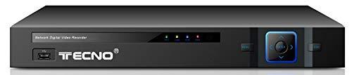 DVR TECNO MODELLO AHD-IP-TVI- 8 CANALI Sicurezza Controllo di Telefono Email Allarme di Rilevamento del Movimento per Telecamera di Sorveglianza