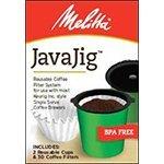 メリタJavajig Keurig Kカップ用再利用可能カップ & フィルター [並行輸入品]