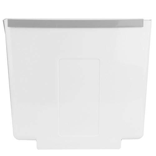 HERCHR Haushalts-Mini-Mülleimer, hängender Abfallbehälter Faltbarer Mülleimer für Küchenschrank Tür Schreibtisch 12.6x10.2x7.7in