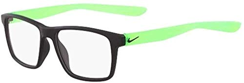 Nike Damen 5002 Sonnenbrille, Matte Black/Green, Standard
