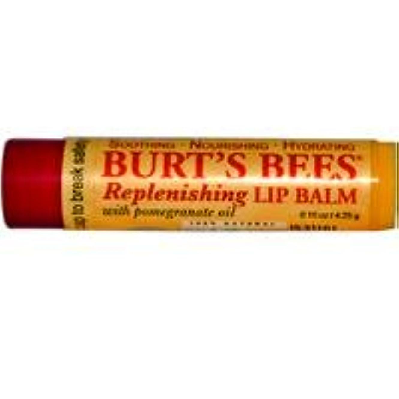 勝者クマノミ留まる[海外直送品] バーツビーズ(Burt's Bees) ポメグラネイト リップバーム 4.25g