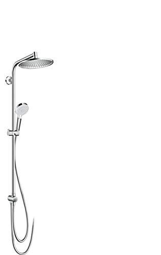 hansgrohe Crometta S 240 Reno Duschsystem (wassersparend, 2 Strahlarten) Chrom