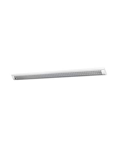LEDVANCE LED Büro-Lichtleiste, Leuchte für Innenanwendungen, Kaltweiß, Klick-Dim über Wandschalter, Länge: 120 cm, LED Office Line Grid