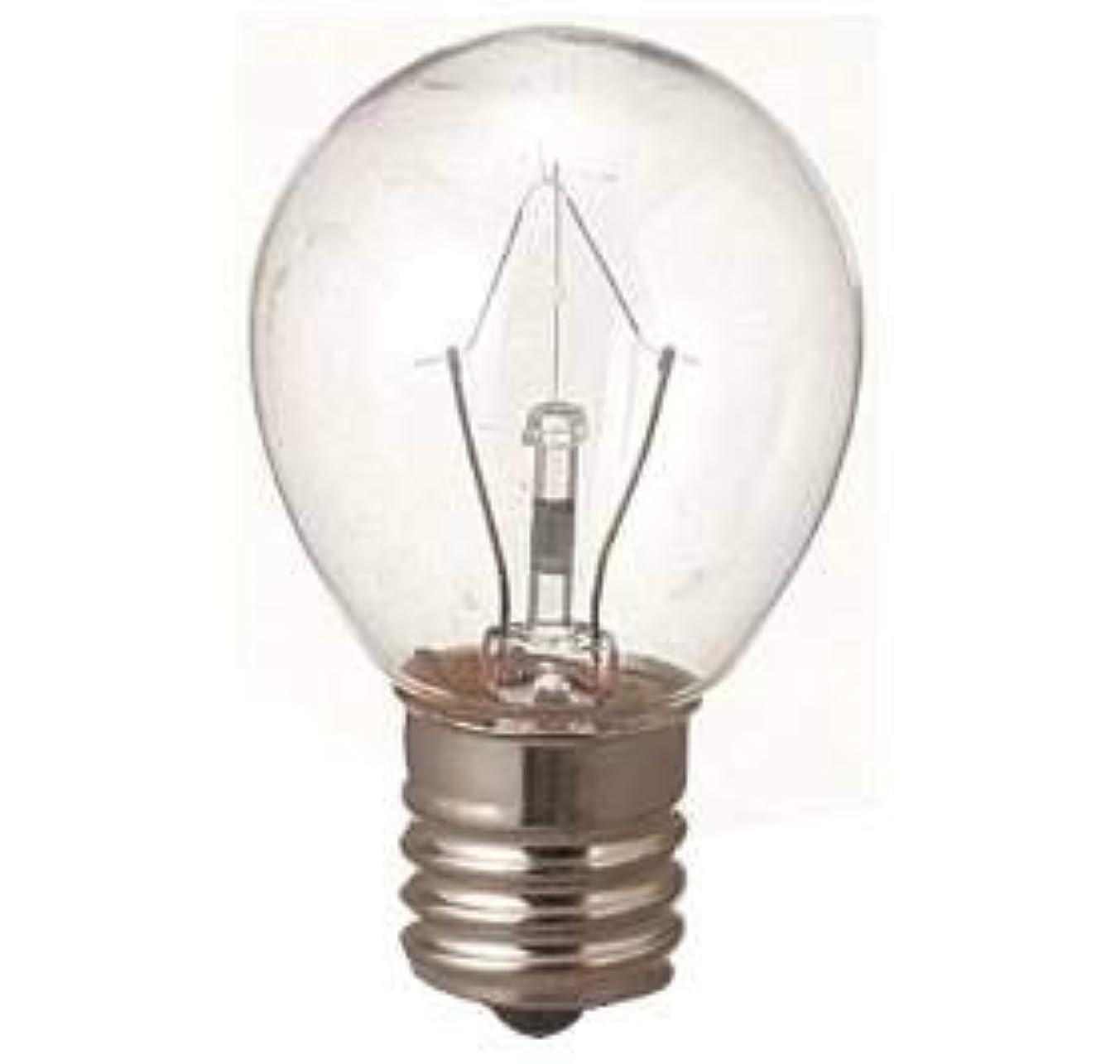 ブランドスリットきらめき生活の木 アロマランプM用 電球15W(サイズ:φ23×H50mm)
