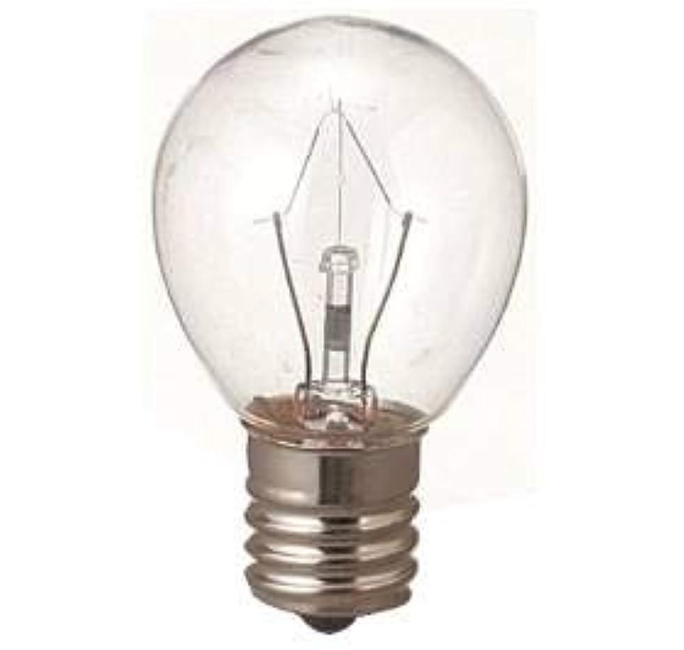 骨鳴り響く子孫生活の木 アロマランプM用 電球15W(サイズ:φ23×H50mm)