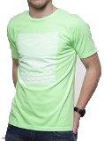 Quiksilver - Camiseta De Manga Corta, Seven Seas, Niño, Color: Verde Flúor, Talla: 14