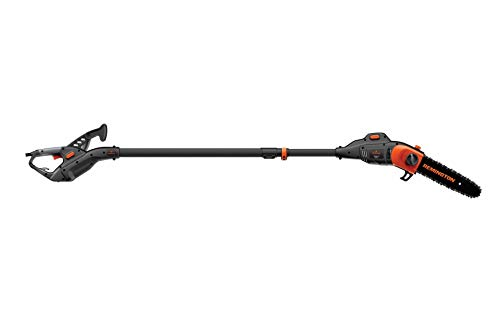 Remington RM1035P Ranger II 8-Amp Electric 2-in-1 Pole Saw & Chainsaw Foot Telescoping Shaft and 10-Inch Bar for Tree Trimming and Pruning (Renewed)