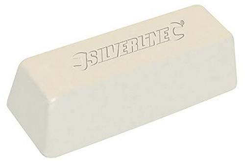 Polierpaste fein weiß für Edelstahl Stahl Eisen 500gr im Block