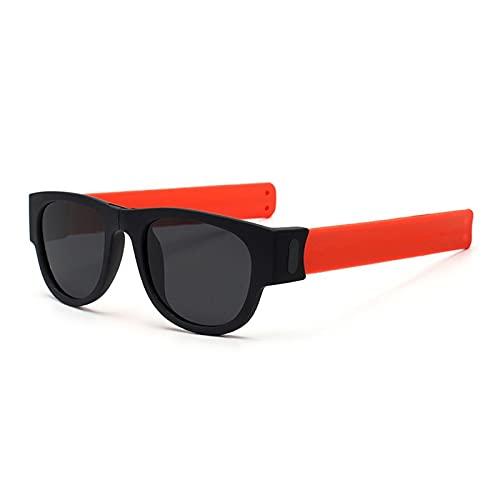 NBJSL Diseño de pulsera Gafas de sol plegables polarizadas Gafas de sol para montar al aire libre Embalaje de regalo exquisito