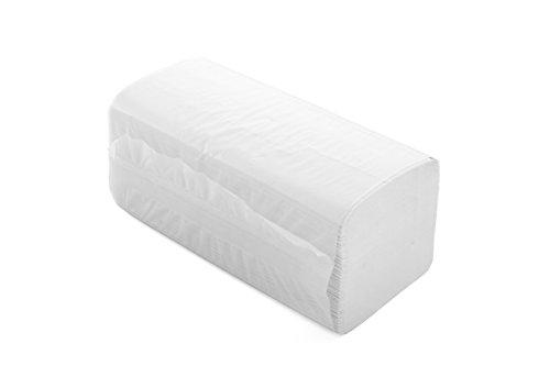 Semy Top ST-77060 papieren handdoek, Z-vouw, 2-laags, gerecycled, 24 cm x 22 cm (4000-pack)