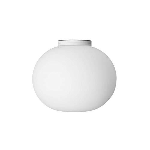 Flos GLO-Ball C/W Zero EU BCO Verre Opale Blanc 19 x 16 cm