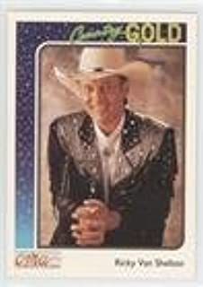 Ricky Van Shelton (Trading Card) 1992 Sterling Cards CMA Country Gold - [Base] #60