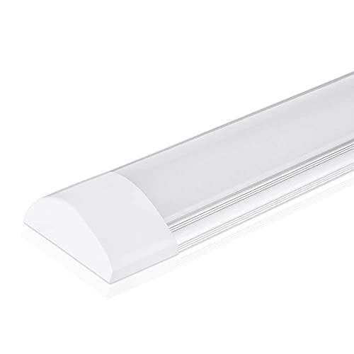 Plafoniere LED A Soffitto 10W 30cm 1000 Lumen Luce Freddo 6000k Lampada Sottopensile Led Cucina, Officina, Garage (Bianco Freddo-6000K, Pacco da 1)