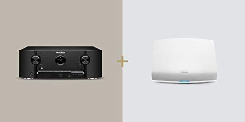 Sale!! Marantz SR5014 AV Receiver + HEOS 5 Wireless Speaker (White) Bundle
