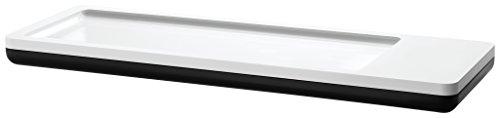 HAN Stiftschale i-Line - elegante, moderne Stiftschale mit Magnet für Büroklammern. Ein echter Blickfang für den Schreibtisch, weiß-schwarz, 17650-32