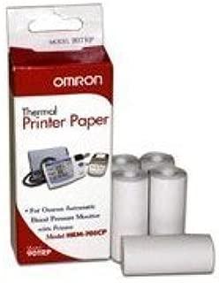 OMRON DIGITAL BLOOD PRESSURE THERMAL PRINTER PAPER FOR HEM 705CP, 5 Rolls/Box, Pack of 2 Boxes