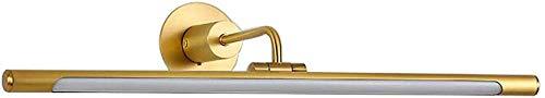 Spiegelvoorlicht LED badkamerspiegel kastlamp make-up lamp koperen spiegel lamp kaptafel lamp roller snownow (kleur: A, maat: 75cm)