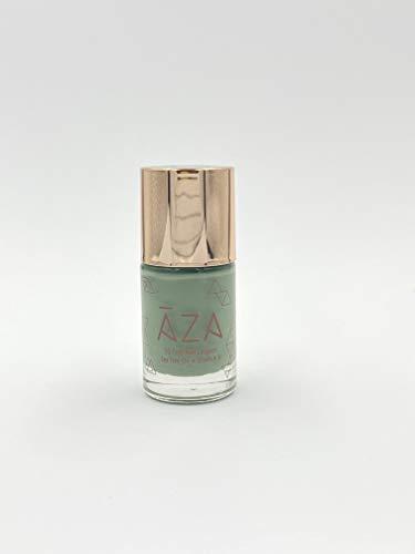 AZA Nail Polish - Vegan, 10-Free, Cruelty-Free, Non-Toxic, Sage Green (Fly Me to The Moon)