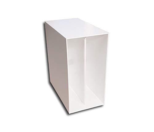 LP Schallplatten Box weiß Protected