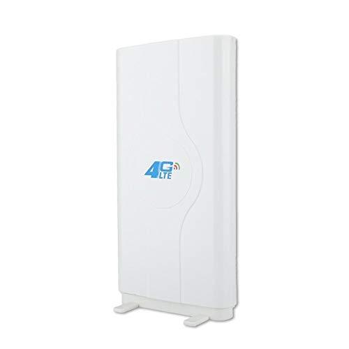 Conkergo Blazing Fast Indoor 4G LTE 88dbi Antena de Placa de Alta Ganancia 800MHz a 2600MHz SMA