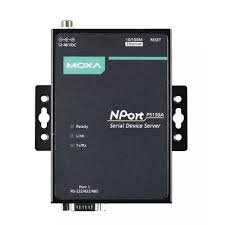 MOXA NPort P5150A - 1 Port RS-232/422/485 PoE Serial Device Server, 10/100M Ethernet, DB9 Male, 0-60C, 1KV Serial Surge Protection