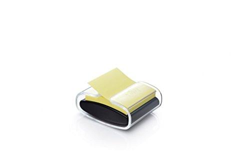 Post-it Super Sticky Notes - Pack con 14 blocs Z-Notas Post-it Super Sticky de colores surtidos y 1 dispensador Pro, color negro