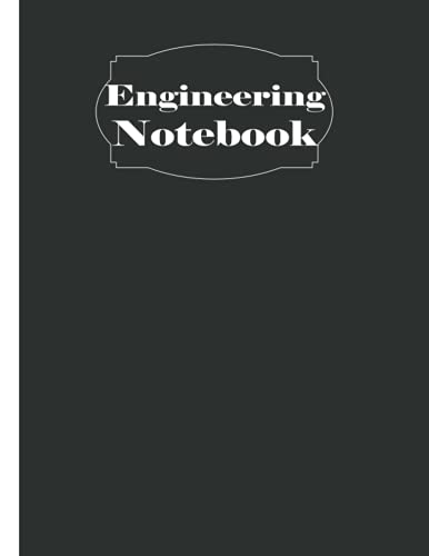 Engineering Notebook: 120 Pages Grid Paper Notebook, Math Space Science Technology Engineering Math Physics, Graph Paper Composi