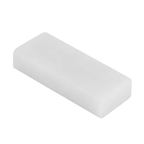 Affilacoltelli da cucina, 50 x 20 x 10 mm, per affilare la pietra per affilare i coltelli da cucina (bianco 8000#)