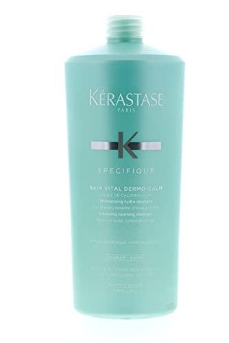 Kerastase Dermo-Calm Bain Vital Shampoo (Sensitive Scalps & Normal to Combination Hair) 1000ml/34oz by Kerastase
