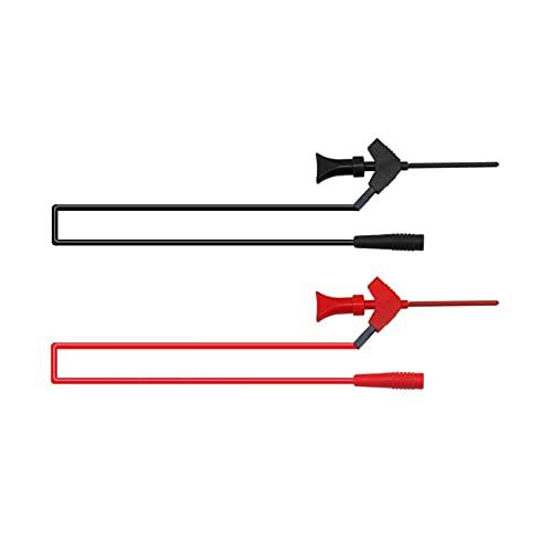 Cables de prueba del multímetro, P1511B 2 mm Enchufe femenino al kit de plomo de prueba de prueba AWG de prueba AWG puede conectar la sonda multimétrica digital para multímetro, voltímetro,